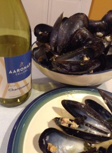 2014 Chardonnay_Mussels