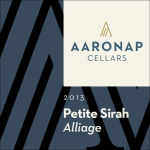 2013 Petite Sirah Alliage_Back Label